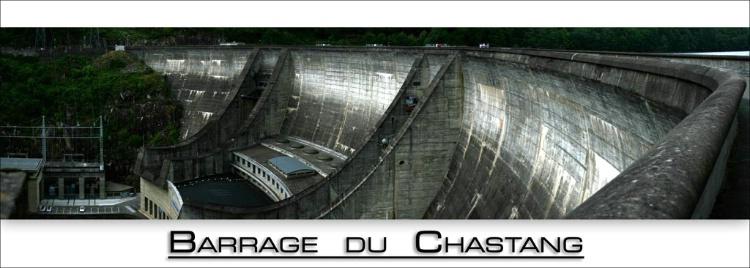 Le Barage du Chastang (Auvergne, France)