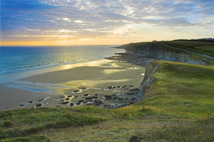 Southerndown at Sunset