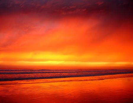 Firery September Sunset