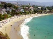 Beach Goers in La...