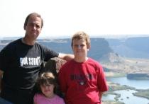 """Brian, Jordan & Amanda at Dry Falls #2 """""""