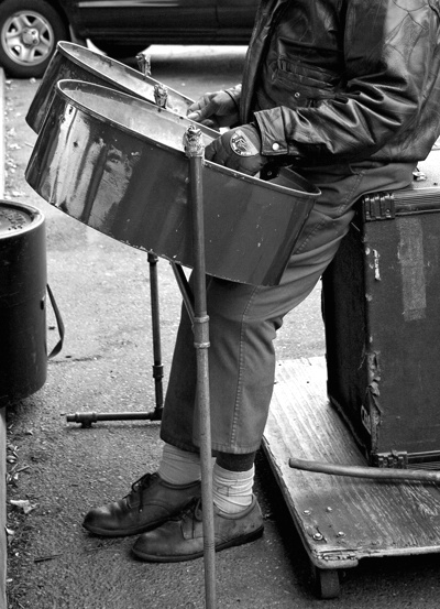 Steel Drummer at the Farmer's Market