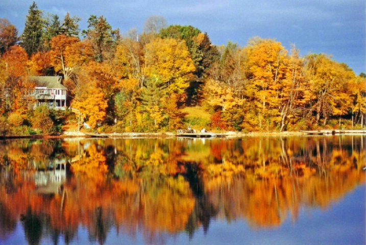 Huntsville Muskoka  In The Fall