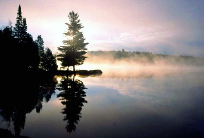 Smoke Lake Mirage