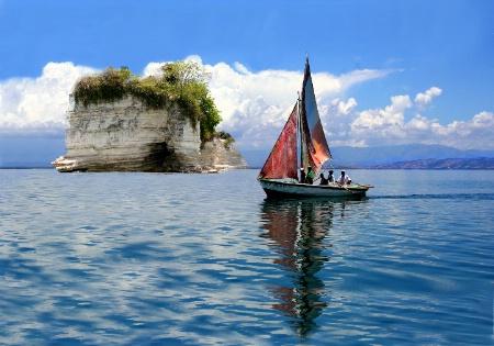 Sailing the shores of Haiti