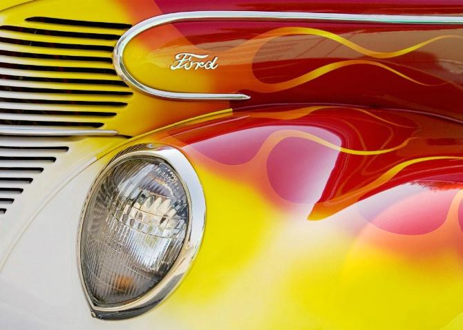 Flaming Ford - ID: 2646127 © Jim Kinnunen