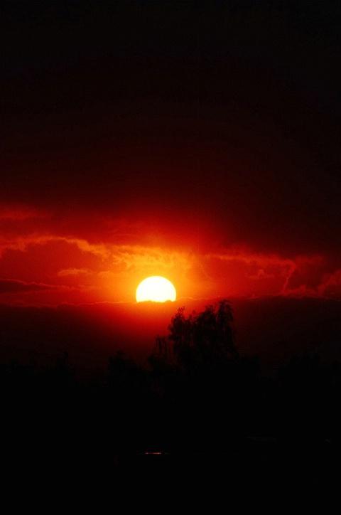 Sunrise In Balad, Iraq