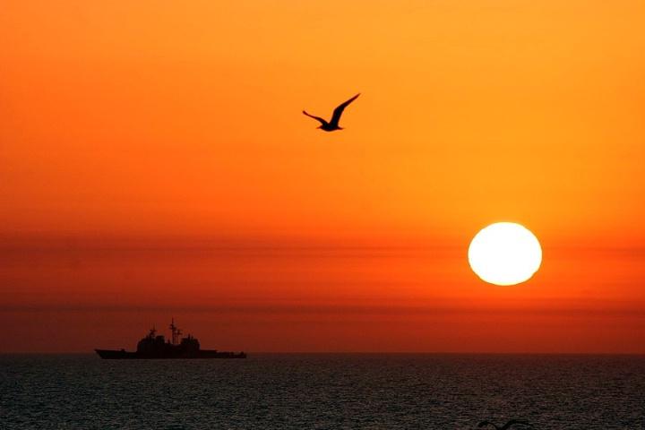 Persian Gulf Sunrise