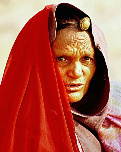pilgrim from rajastan at varanasi