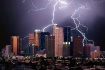 Lightning storm o...