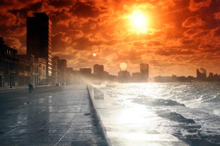 PUERTO DE SALIDA CUNBA    Summer sun