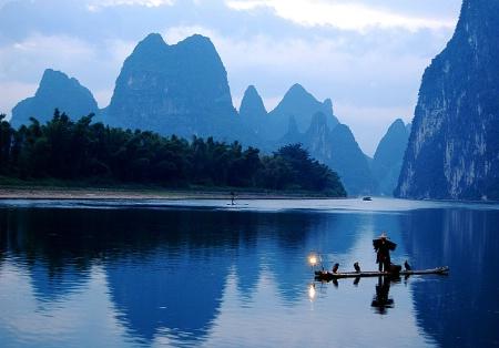 Dawn in Xingping