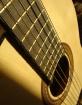 His guitar up clo...