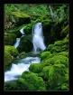 Waterfall in Gree...