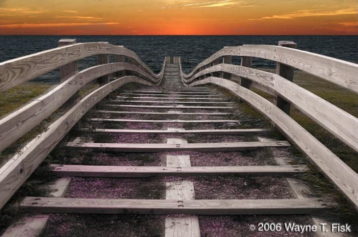 Stairway to Venice Beach