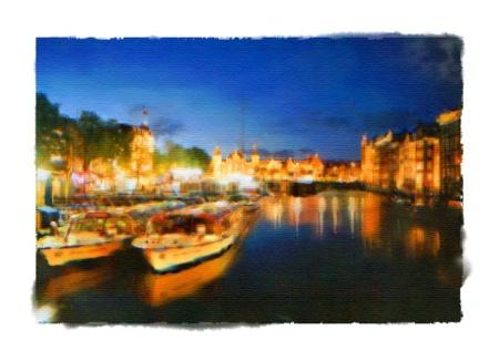 """Amsterdam Night"""