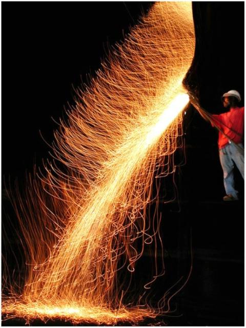 Fire cascade