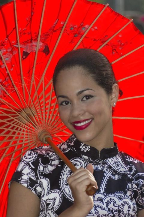 Oriental smile