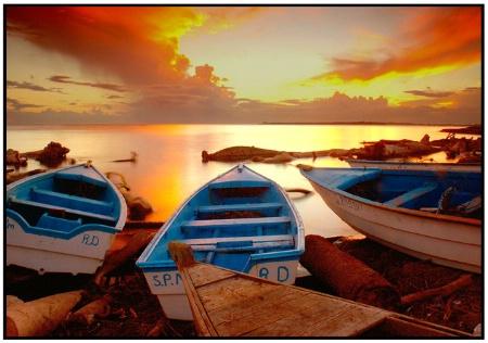The fisherman's sunset