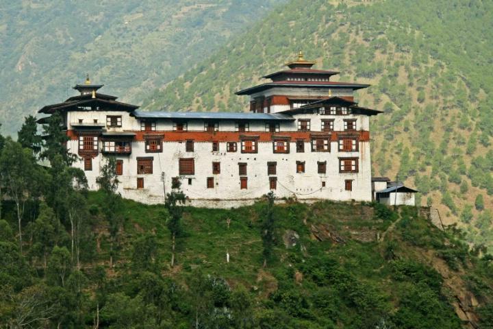 Trashigang Dzong, Bhutan