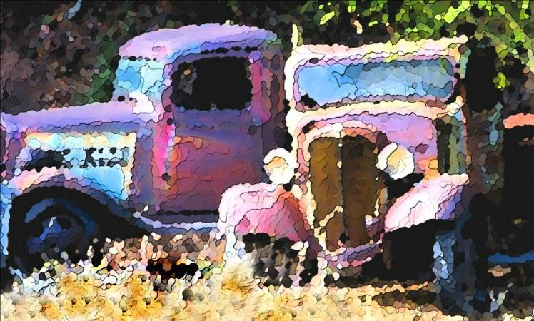 Trucks on Hwy 41 - ID: 2852659 © Paul Knupp