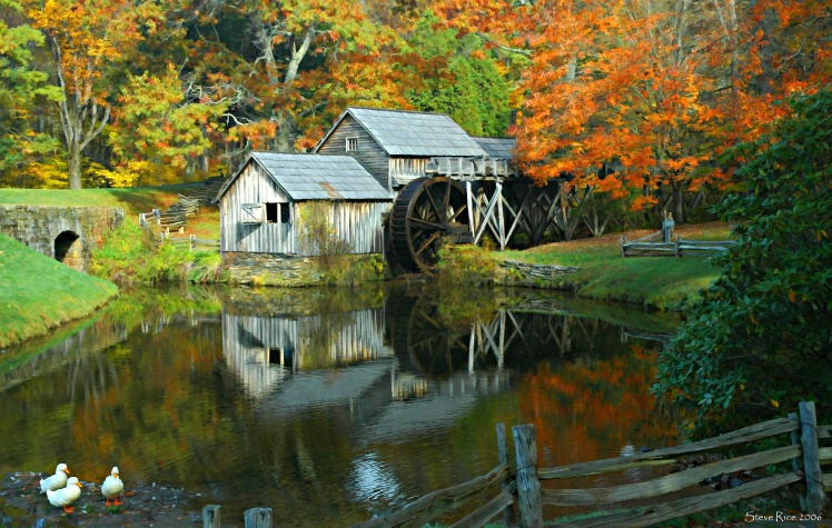 """Fall at Mabry Mill"""