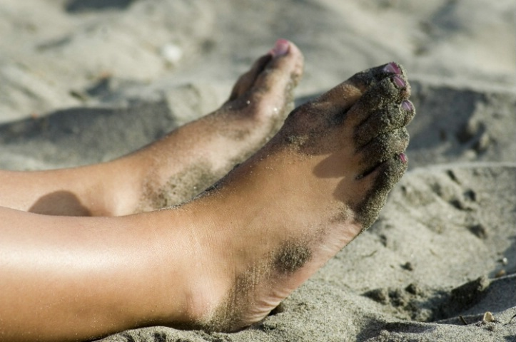 August:  Sand Between Toes