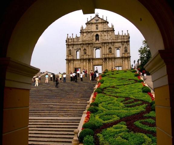 Church Ruin Macau