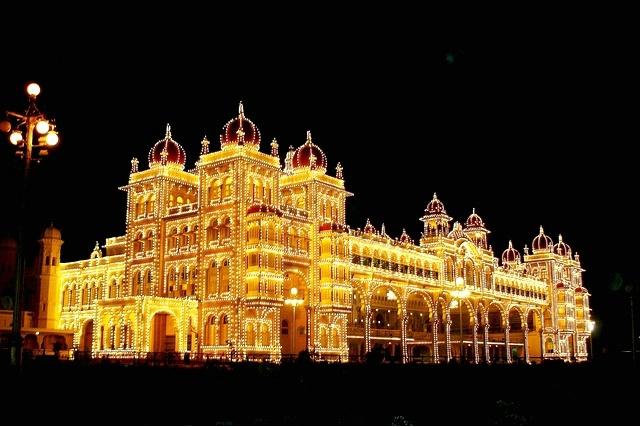 Lightened Palace