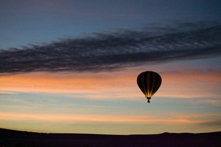 Sunrise Aloft - ID: 2941496 © Tedd Cadd