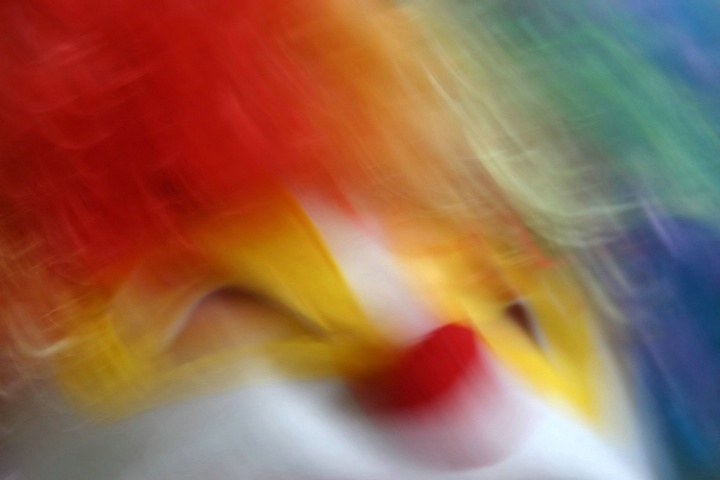 Clown Abstract