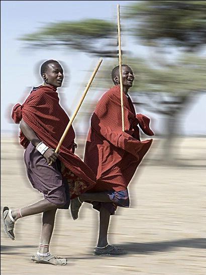 Maasai Village in the Serengeti - ID: 2959620 © Paul Knupp