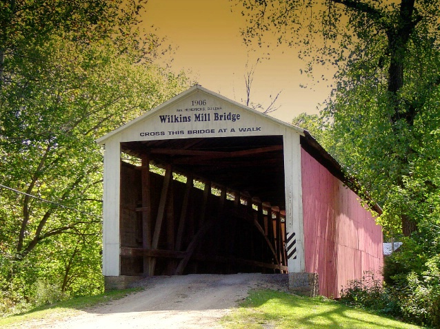 Covered bridge, Parke county, IN - ID: 2988411 © Muriel Soler