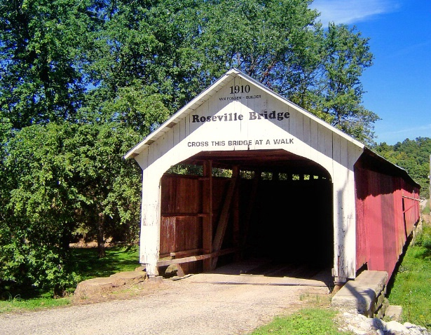 Covered bridge, Parke county, IN - ID: 2988412 © Muriel Soler