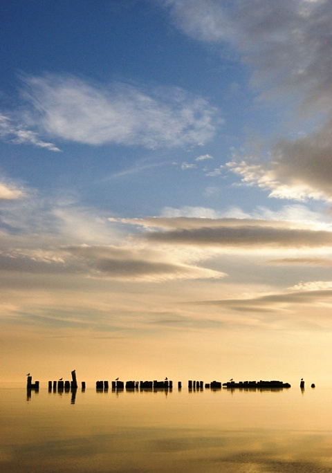Sunset at the Salton Sea - ID: 3015170 © Mary-Ella Bowles