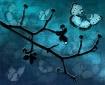 A falling blossom...