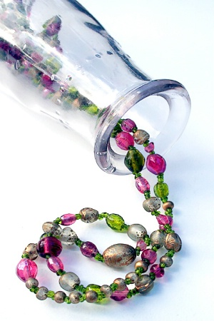 Beads in a Bottle