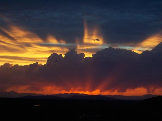 Summer Sunset in Idaho