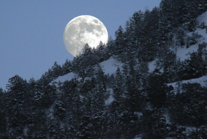Full Moon - Palisades Creek Idaho
