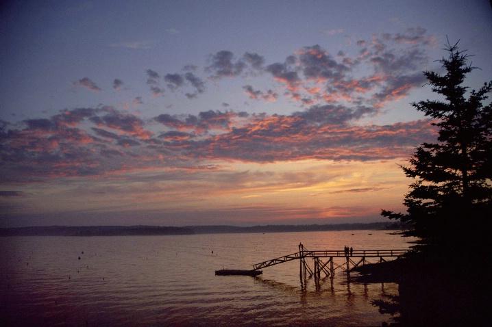 Sunset At Boothbay Harbor, Maine - ID: 3113481 © John Singleton