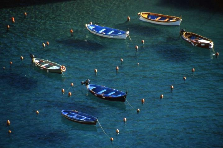 Fishing Boats - Vernazza - Cinque Terre - Italy - ID: 3121856 © Larry Lightner