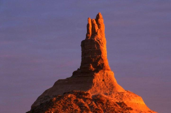 Chimney Rock - Bayard - Nebraska - ID: 3127387 © Larry Lightner