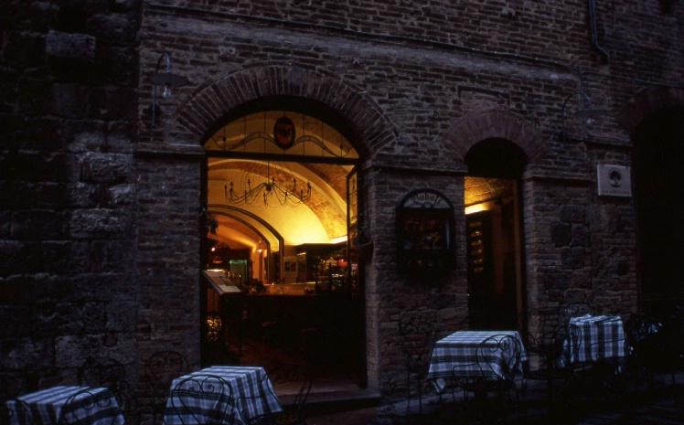Bar Pasticceria Boboli - San Gimignano - Tuscany - ID: 3127408 © Larry Lightner