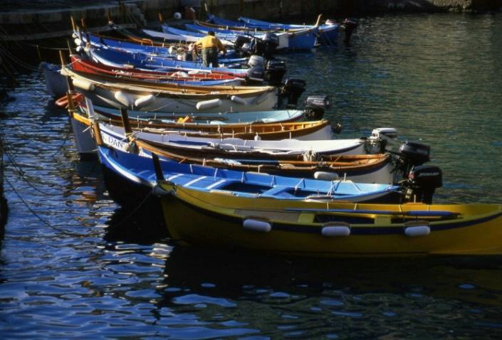 Fishing Boasts - Vernazza - Cinque Terre - Italy - ID: 3127409 © Larry Lightner