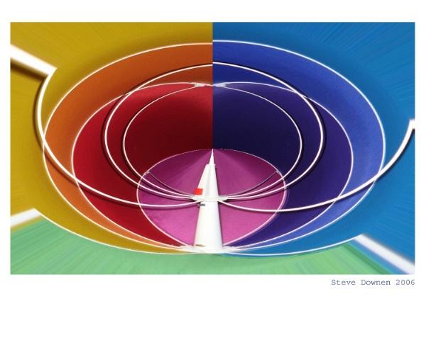Abstract Color 2 -A New Horizon