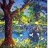 2The Pond - A Park Scene - ID: 3190994 © Eric Highfield