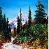 2Western Mountain Scene - ID: 3201397 © Eric Highfield