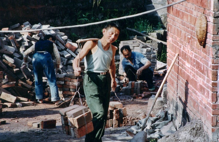 Carrying Bricks to Rebuild