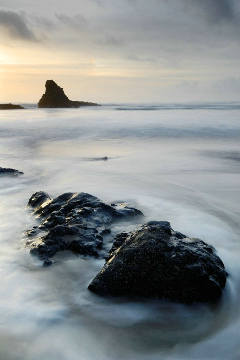 Indian Beach Sunset - ID: 3211783 © Ron Heusser