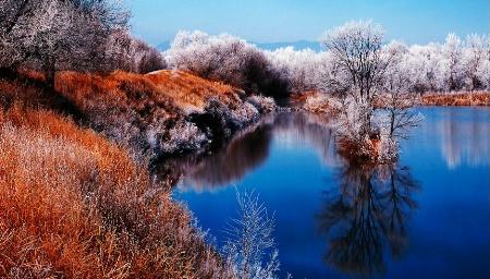 Fountain Creek Park Reflections